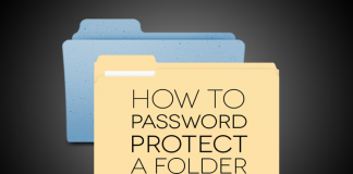 How To Lock a Folder