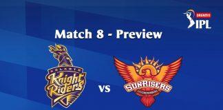 KKR VS SRH Dream 11 Prediction