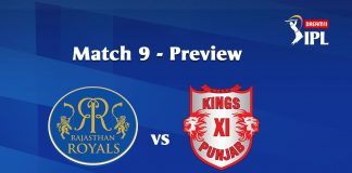 RR VS KXIP Dream 11 Prediction