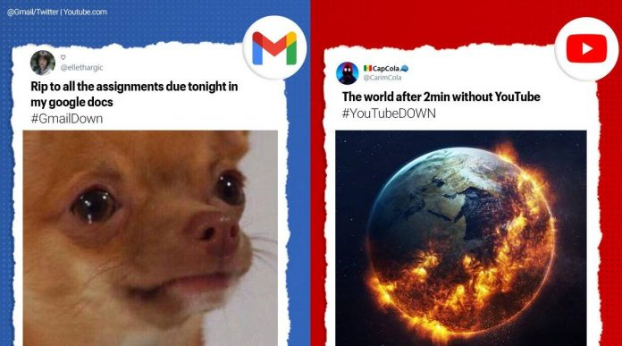 Why was Google down?